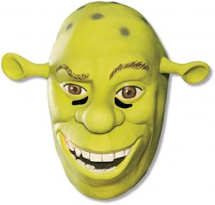 Shrek Forver After - Shrek 3/4 Vinyl Adult Mask - Vinyl