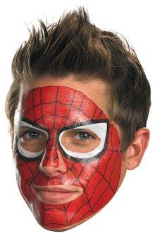 Spider-Man Face Tattoo - Temporary Tattoo